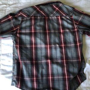 Lil boys adjustable long selves Button down shirt